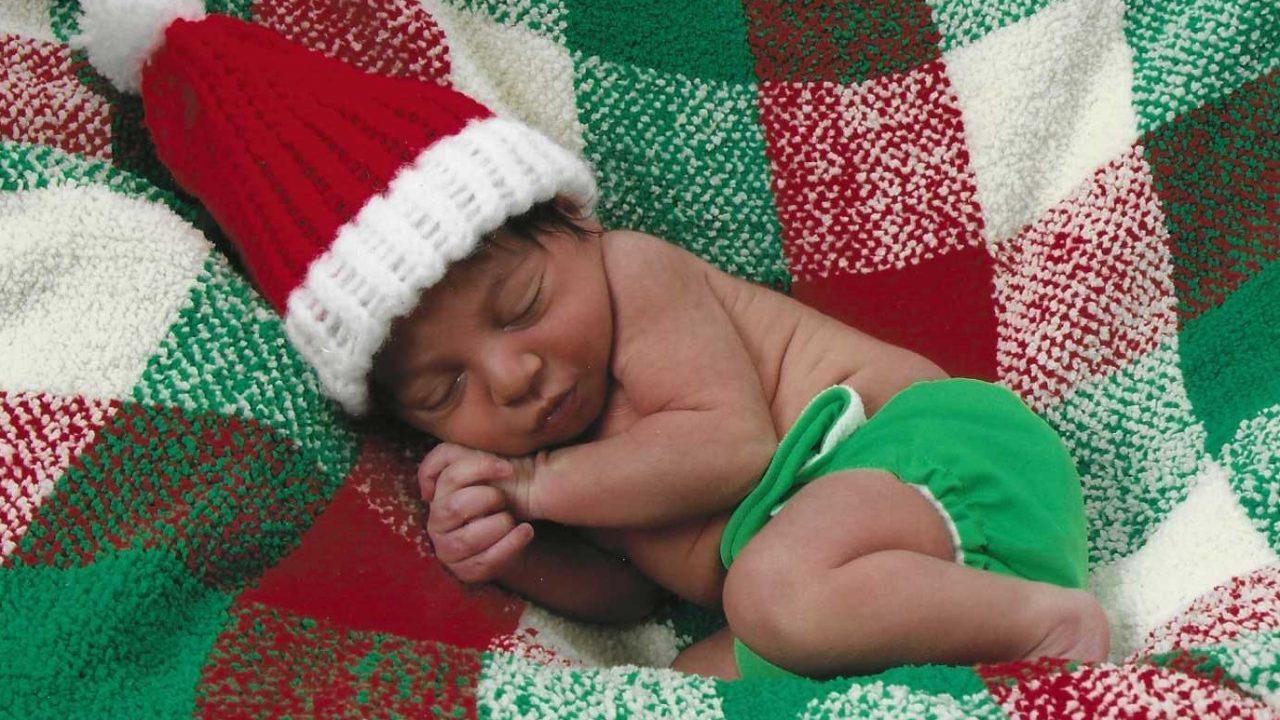baby-first-christmas-santa-hat